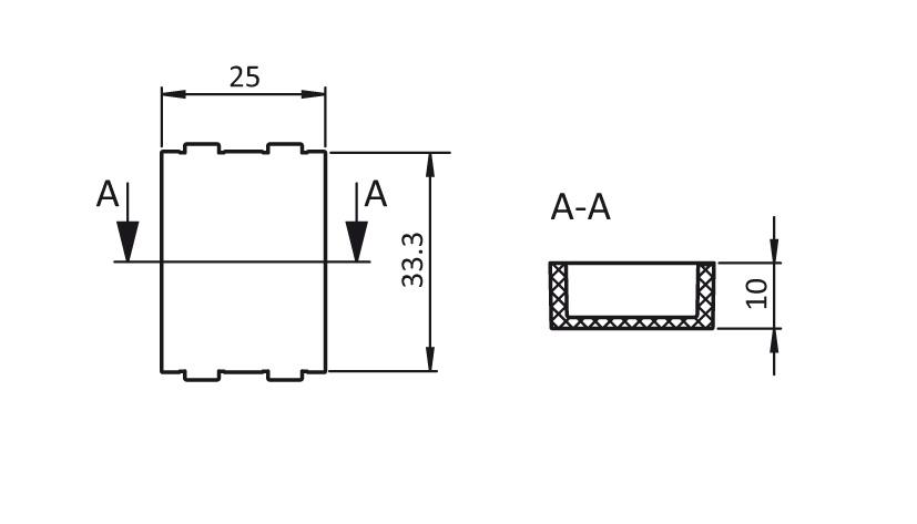 Spacer L25 for Roller Cage AL 2D